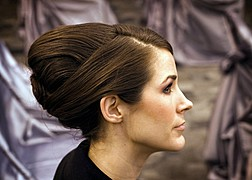 Sofia Pastro hair stylist. Work by hair stylist Sofia Pastro demonstrating Fashion Hair Styling.Fashion Hair Styling Photo #59778