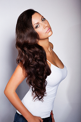 Sofia Skvortsova model. Photoshoot of model Sofia Skvortsova demonstrating Face Modeling.Face Modeling Photo #55196