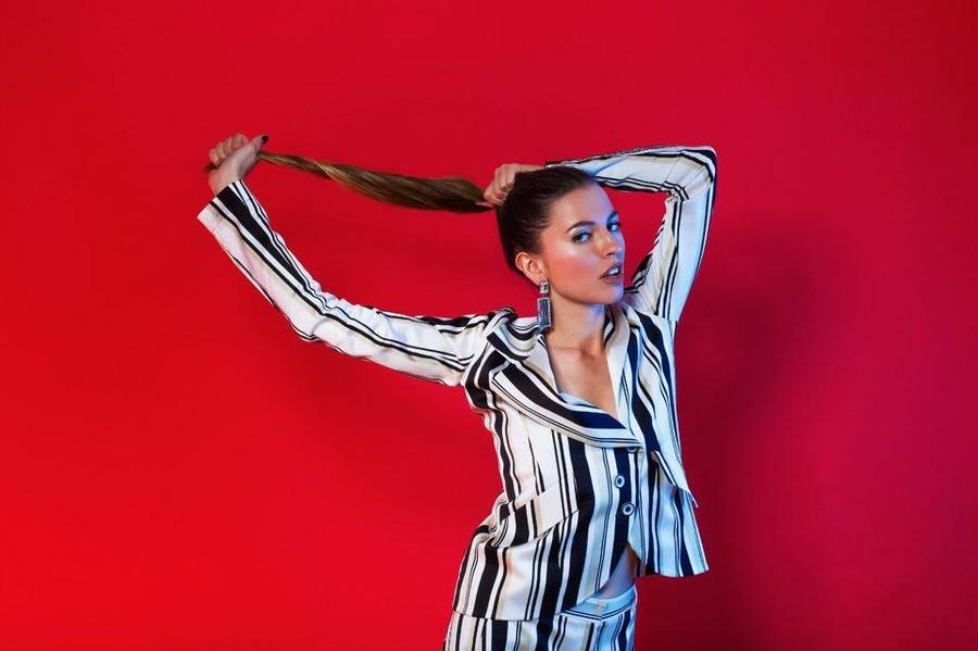 Sofia Zakharova model. Photoshoot of model Sofia Zakharova demonstrating Fashion Modeling.Fashion Modeling Photo #176591