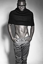 Solomon Tega model (модель). Photoshoot of model Solomon Tega demonstrating Fashion Modeling.Fashion Modeling Photo #70966