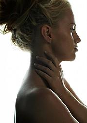 Sonia Gleis model (modèle). Photoshoot of model Sonia Gleis demonstrating Face Modeling.Face Modeling Photo #160161