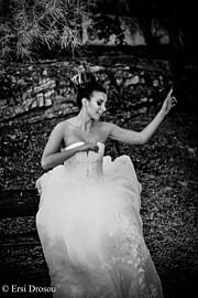 Sophie Dimopoulou model (μοντέλο). Photoshoot of model Sophie Dimopoulou demonstrating Fashion Modeling.Fashion Modeling Photo #177040