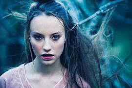 Sophie Doull model. Photoshoot of model Sophie Doull demonstrating Face Modeling.Face Modeling Photo #55044