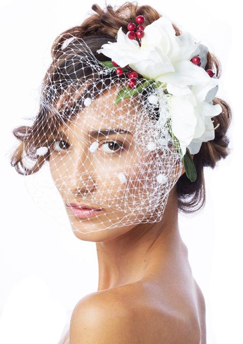 Sophie Ka Sofika model (модель). Photoshoot of model Sophie Ka Sofika demonstrating Face Modeling.Wedding VeilFace Modeling Photo #74025