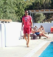 Sotiris Mavromichalos model (μοντέλο). Photoshoot of model Sotiris Mavromichalos demonstrating Fashion Modeling.Fashion Modeling Photo #215616