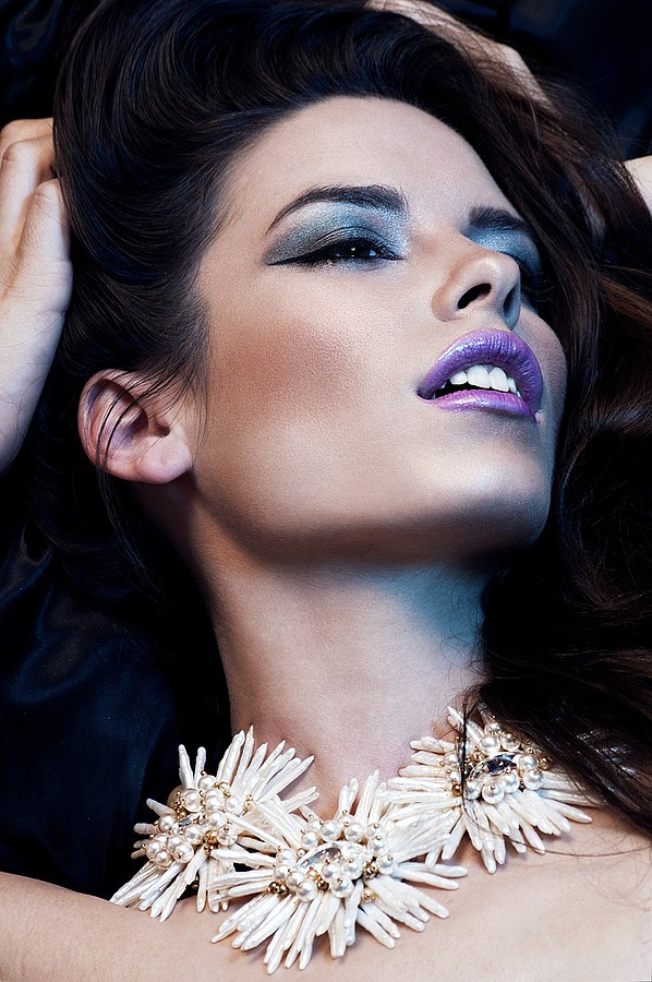 Sparkle Tafao makeup artist. Work by makeup artist Sparkle Tafao demonstrating Beauty Makeup.Beauty Makeup Photo #111273