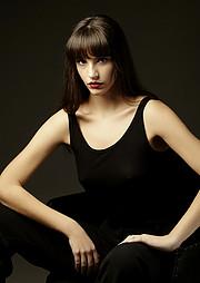 Spyridoula Valasiadou model (μοντέλο). Photoshoot of model Spyridoula Valasiadou demonstrating Face Modeling.Face Modeling Photo #230180