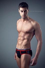Spyros Papakonstantinou model (μοντέλο). Photoshoot of model Spyros Papakonstantinou demonstrating Body Modeling.Body Modeling Photo #150825