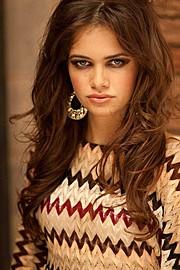 Stacey Martonen model. Photoshoot of model Stacey Martonen demonstrating Face Modeling.Face Modeling Photo #71532
