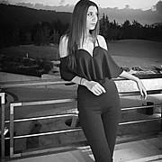 Stefani Melidou model. Photoshoot of model Stefani Melidou demonstrating Fashion Modeling.Fashion Modeling Photo #186274