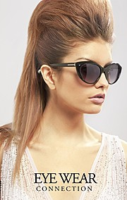 Steph Rai model & actress. Photoshoot of model Steph Rai demonstrating Face Modeling.Eyewear Connection 2012 LookbookEyewearFace Modeling Photo #109651