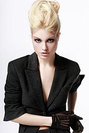 Steph Rai model & actress. Photoshoot of model Steph Rai demonstrating Face Modeling.Face Modeling Photo #109703