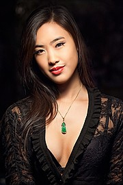 Stephanie Pham model actress. Photoshoot of model Stephanie Pham demonstrating Face Modeling.Face Modeling Photo #186687