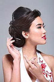Stephanie Pham model actress. Photoshoot of model Stephanie Pham demonstrating Face Modeling.Face Modeling Photo #71359