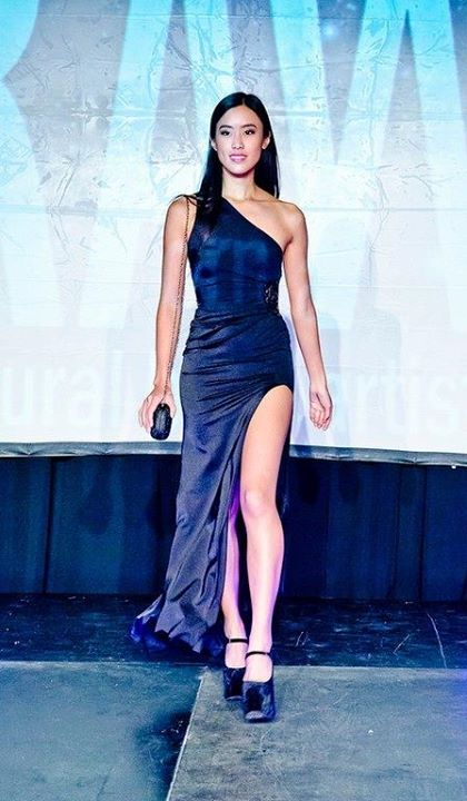 Stephanie Pham model actress. Photoshoot of model Stephanie Pham demonstrating Runway Modeling.Runway Modeling Photo #71363