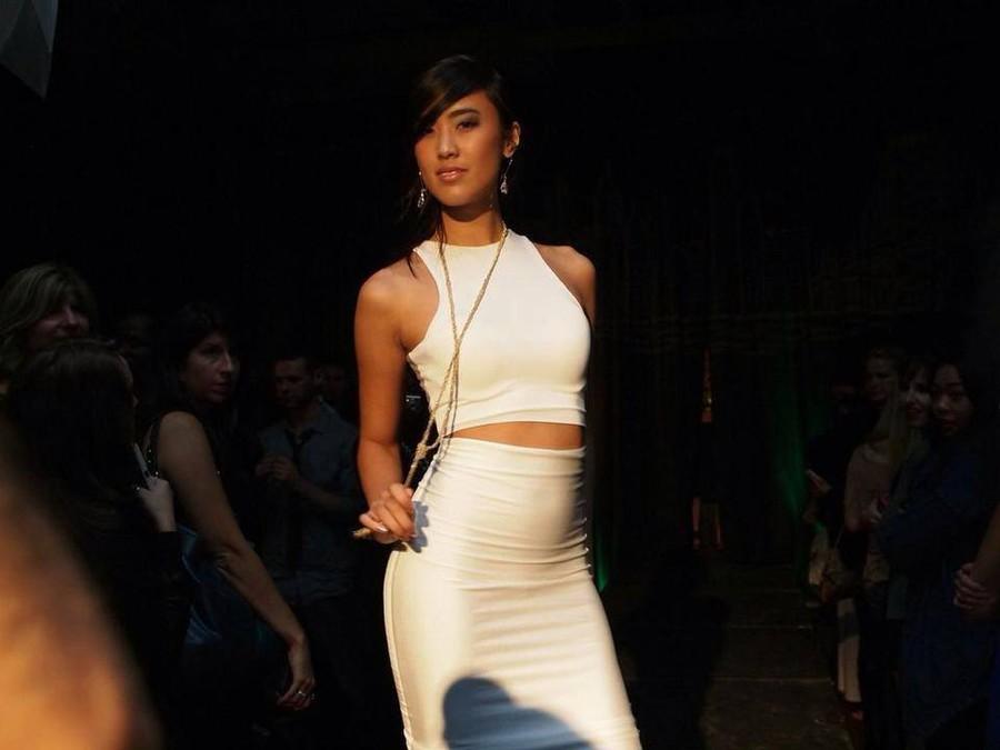 Stephanie Pham model actress. Photoshoot of model Stephanie Pham demonstrating Runway Modeling.Runway Modeling Photo #71364