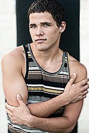 Stephen Crane model. Photoshoot of model Stephen Crane demonstrating Face Modeling.Face Modeling Photo #74344