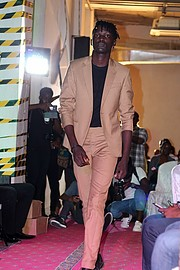 Stephen Jaldoon model. Photoshoot of model Stephen Jaldoon demonstrating Runway Modeling.Pwani fashion weekRunway Modeling Photo #194903