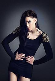 Stina Bakken model (modell). Photoshoot of model Stina Bakken demonstrating Fashion Modeling.Fashion Modeling Photo #93078