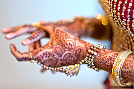 Supreet Tuteja henna & bridal makeup. makeup by makeup artist Supreet Tuteja.Henna Tattoo Photo #95014