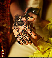 Supreet Tuteja henna & bridal makeup. makeup by makeup artist Supreet Tuteja.Henna Tattoo Photo #95015