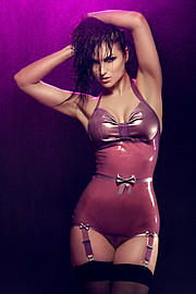 Susanna Andersen model. Susanna Andersen demonstrating Fashion Modeling, in a photoshoot by Joakim Jonsson.Photographer: Joakim Jonssonmua: Jessica LundbergLatex: Naucler DesignFashion Modeling Photo #98457