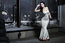 Susanna Andersen model. Photoshoot of model Susanna Andersen demonstrating Fashion Modeling.HMS latexLocation:ParisPhoto: Andreas HarnemoFashion Modeling Photo #98479