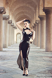 Susanna Andersen model. Photoshoot of model Susanna Andersen demonstrating Fashion Modeling.Fashion Modeling Photo #98483