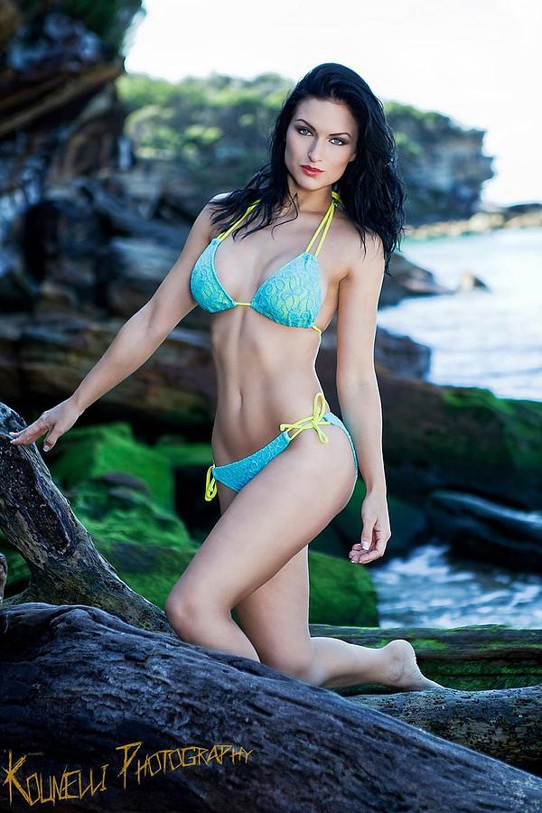 Susanna Andersen model. Photoshoot of model Susanna Andersen demonstrating Body Modeling.Body Modeling Photo #98503
