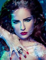 Suzana Hallili makeup artist. makeup by makeup artist Suzana Hallili. Photo #47090