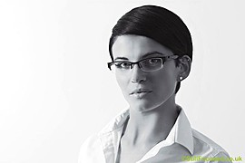 Suzanne Chamberlain model. Photoshoot of model Suzanne Chamberlain demonstrating Face Modeling.Face Modeling Photo #71857