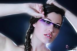 Sylvia Smith makeup artist. Work by makeup artist Sylvia Smith demonstrating Creative Makeup.Creative Makeup Photo #82196