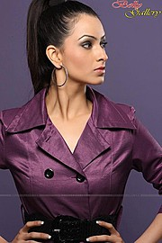 Tahira Kochhar model. Photoshoot of model Tahira Kochhar demonstrating Face Modeling.Face Modeling Photo #123025