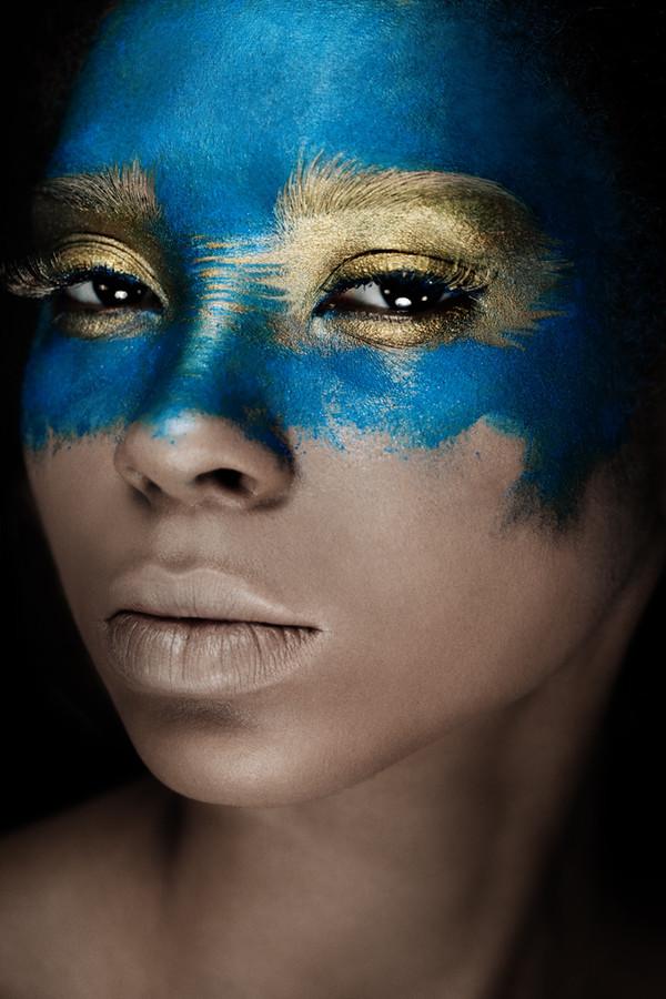 Taisia Shuyskaya makeup artist (Таисия Шуйская визажист). Work by makeup artist Taisia Shuyskaya demonstrating Creative Makeup.Face PaintingCreative Makeup Photo #57579