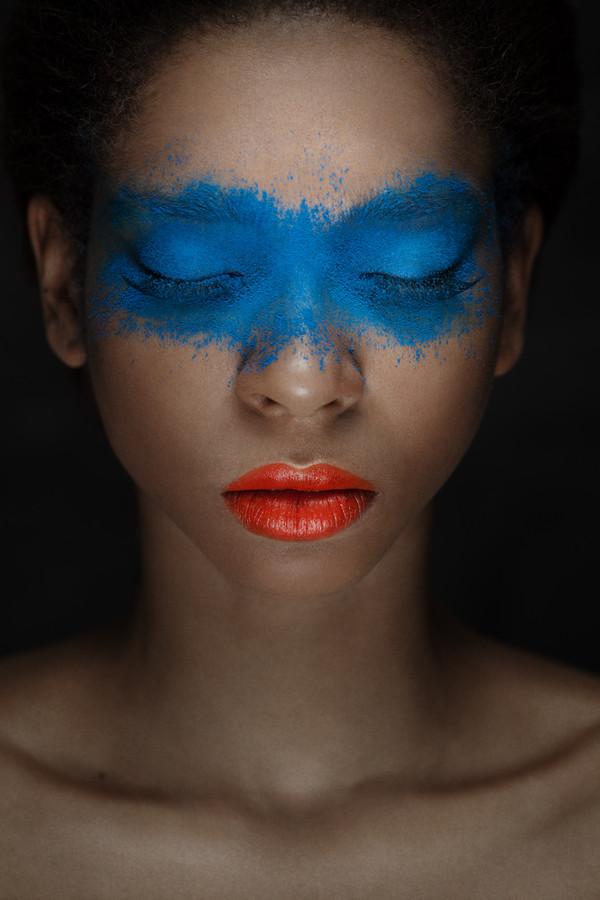 Taisia Shuyskaya makeup artist (Таисия Шуйская визажист). Work by makeup artist Taisia Shuyskaya demonstrating Creative Makeup.Creative Makeup Photo #57580