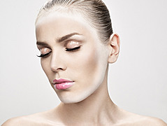 Taisia Shuyskaya makeup artist (Таисия Шуйская визажист). Work by makeup artist Taisia Shuyskaya demonstrating Beauty Makeup.Beauty Makeup Photo #57590