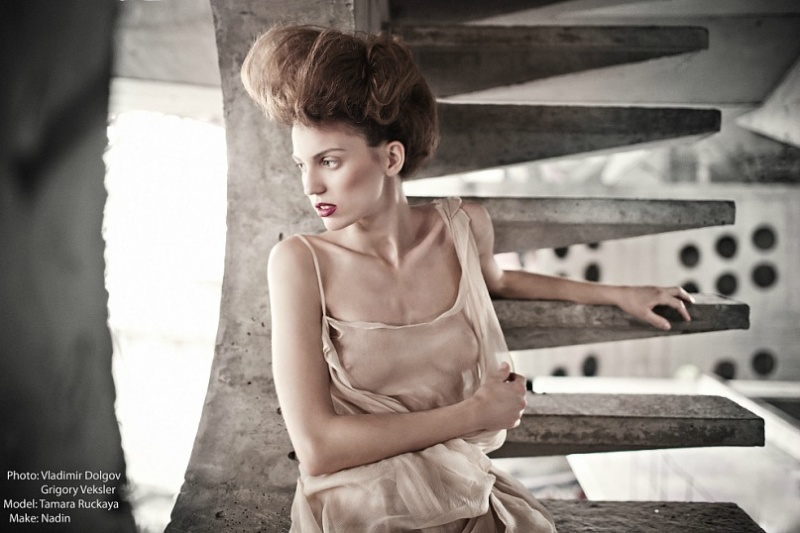Tamara Rutskaya model (модель). Photoshoot of model Tamara Rutskaya demonstrating Fashion Modeling.Fashion Modeling Photo #78029