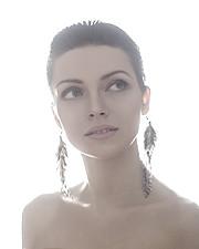 Tanya Nord model (модель). Photoshoot of model Tanya Nord demonstrating Face Modeling.Face Modeling Photo #124948