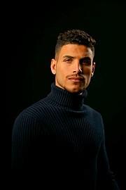 Tarek Tawfek model. Photoshoot of model Tarek Tawfek demonstrating Face Modeling.Face Modeling Photo #232942