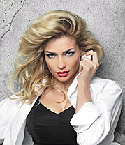 Tatiana Kotova (Татьяна Котова) model & singer. Photoshoot of model Tatiana Kotova demonstrating Face Modeling.Face Modeling Photo #80690