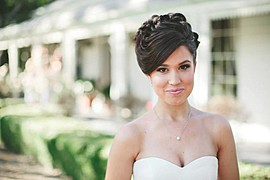 Taylor Kimler makeup artist. Work by makeup artist Taylor Kimler demonstrating Bridal Makeup.Bridal Makeup Photo #78622