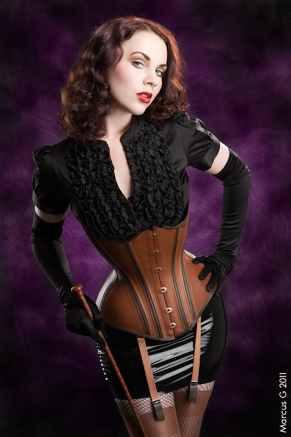 Tea Time model. Tea Time demonstrating Fashion Modeling, in a photoshoot by Marcus Gunnarsson.==Bizarre Design==CorsetFashion Modeling Photo #102363