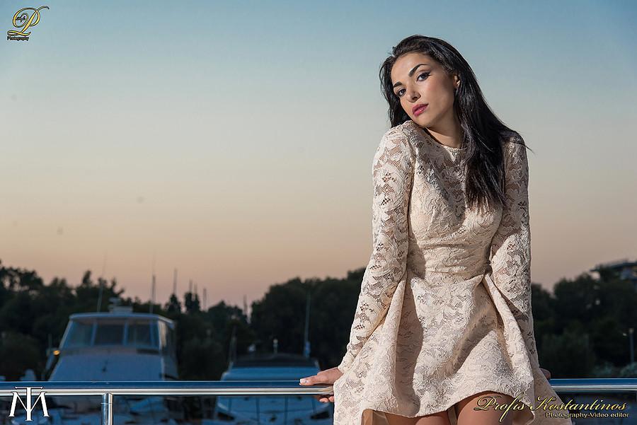 Theodora Moschouri model (μοντέλο). Photoshoot of model Theodora Moschouri demonstrating Fashion Modeling.Fashion Modeling Photo #164395