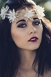 Tia Naccarato model & makeup artist. Photoshoot of model Tia Naccarato demonstrating Face Modeling.Face Modeling Photo #111740