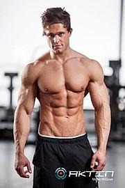 Tomas Klic (Tomáš Klíč) fitness model. Photoshoot of model Tomas Klic demonstrating Body Modeling.Body Modeling Photo #92705