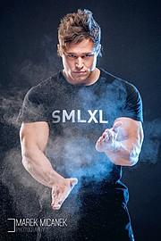 Tomas Klic (Tomáš Klíč) fitness model. Photoshoot of model Tomas Klic demonstrating Face Modeling.Face Modeling Photo #92711