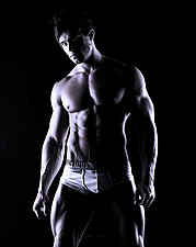 Tomas Klic (Tomáš Klíč) fitness model. Photoshoot of model Tomas Klic demonstrating Body Modeling.Body Modeling Photo #92719