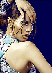Toni Q Rey makeup artist. Work by makeup artist Toni Q Rey demonstrating Beauty Makeup.EarringsBeauty Makeup Photo #57054