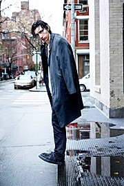 Total Management New York City creative artist agency. casting by modeling agency Total Management New York City.Theo Wenner shoots Adam Driver for Rolling Stone January 2014 issue Photo #60953