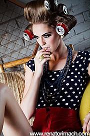 Traci Moore makeup artist. Work by makeup artist Traci Moore demonstrating Fashion Makeup.Fashion Makeup Photo #71688